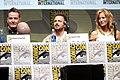 Bryan Cranston, Aaron Paul & Anna Gunn (9362556271).jpg
