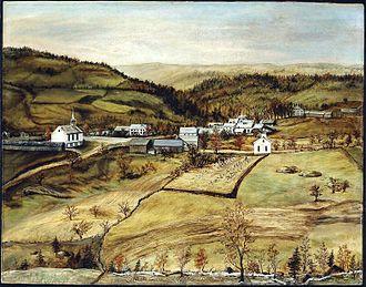 Buckland, Massachusetts - Buckland circa 1850-1868