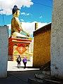 Buddha statue. Likir Gompa. Ladakh. 2010.jpg