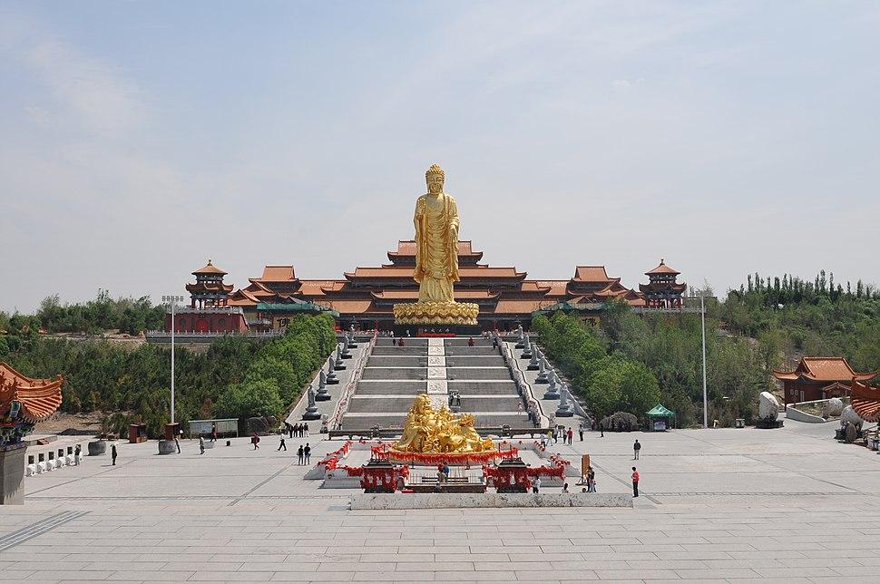 Buddhist temple in Midong, Urumqi, Xinjiang (2)