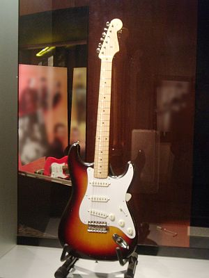 Fender Stratocaster - Buddy Holly's Stratocaster