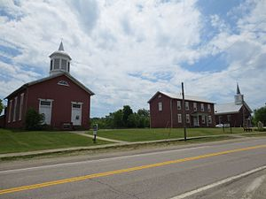 National Register of Historic Places listings in Putnam County, West Virginia - Image: Buffalo Town Square National Register Historic District