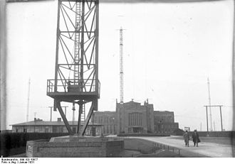 Nauen Transmitter Station - The site in 1931