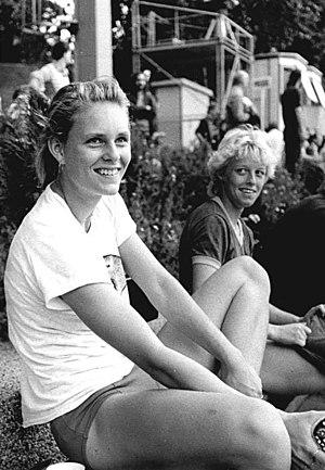 Katrin Krabbe - Krabbe in 1988