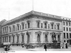 Borsig Palace - The Borsig Palace in 1934