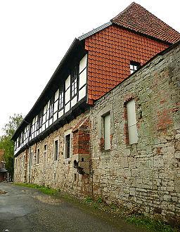 Burg Campen Hauptgebaeude