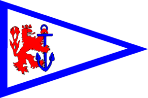 Dobson Yacht Club - Burgee of the Dobson Yacht Club
