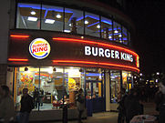 burger king in london