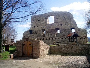 Ruine der Stapelburg (April 2012)