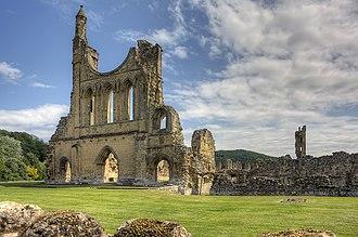 Byland Abbey - Image: Byland Abbey 7Je 11 24105