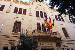 Parliament of the Balearic Islands Autonomous legislative body of the Balearic Islands, Spain