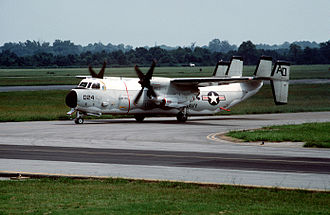 VAW-120 - VAW-120 C-2A at NAS Oceana in 1989
