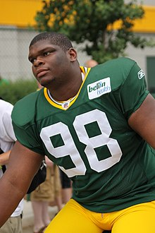 Description de l'image C.J. Wilson August 1 2011 at Packers Training Camp.jpg.