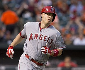 C. J. Cron - Cron with the Los Angeles Angels