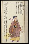 C19 Chinese MS moxibustion point chart; Lieque Wellcome L0039499.jpg