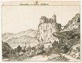 CH-NB - Klus, Burg Blauenstein, Gesamtaussenansicht - Collection Gugelmann - GS-GUGE-GESSNER-S-1-12.tiff