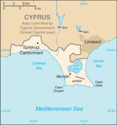 Akrotiri Und Dekelia