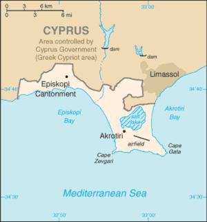 Episkopi Cantonment - Episkopi Cantonment in Akrotiri
