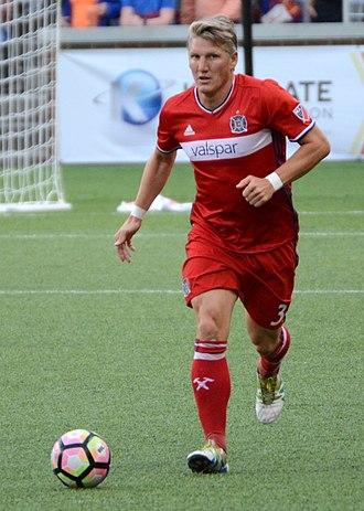 Bastian Schweinsteiger - Schweinsteiger with Chicago Fire in 2017