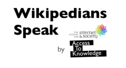 CIS-A2K WikipediansSpeak logo.png