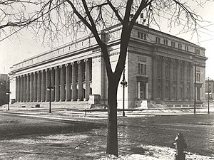 United States Court of Appeals for the Tenth Circuit - U.S. Post Office and Courthouse, as it appeared around 1916.