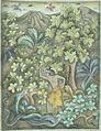 COLLECTIE TROPENMUSEUM Een jongen die in het bos een slang wil slaan TMnr 2712-1.jpg