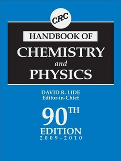 Image illustrative de l'article CRC Handbook of Chemistry and Physics