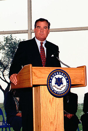 John G. Rowland - Image: CT Governor John Rowland