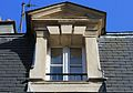 Caen 11 rue Arcisse de Caumont lucarne datée 1671.JPG