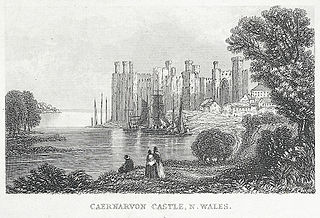 Caernarvon Castle, N. Wales