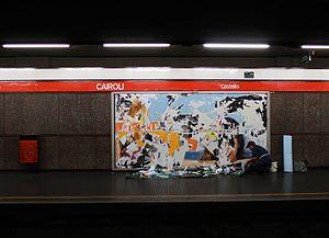 Cairoli (Milan Metro) - Image: Cairoli (11226751766)