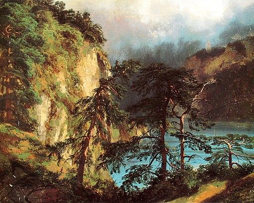 Calame Blick auf den Urnersee 1848