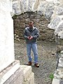 Calling home, across the Atlantic to Princeton, NJ from the Murrisk Abbey, County Mayo, Ireland, December 2007 - panoramio - Gary Miotla.jpg