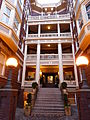 Campbell Hotel entrance court - Portland Oregon.jpg