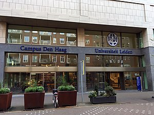 Campus The Hague - Campus building at Turfmarkt in The Hague