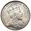 Canada Newfoundland Edward VII 50 Cents 1908 (obv).jpg