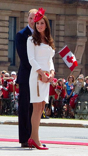 Kate Middleton effect - Image: Canada Ottawa William and Kate 2011