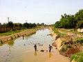 Canal in Ouagadougou, Burkina Faso, 2009.jpg