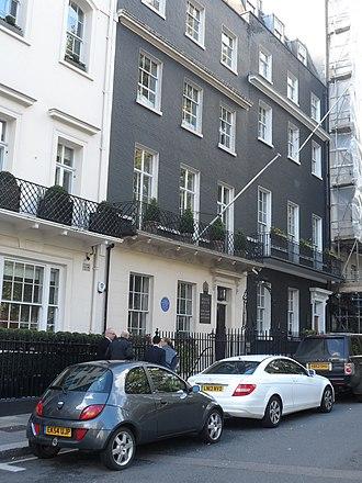 Maggs Bros Ltd - The 50 Berkeley Square premises in 2014