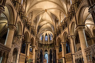 Early English choir, Canterbury Cathedral (1175-1180) Canterbury Cathedral - Interior 03.jpg