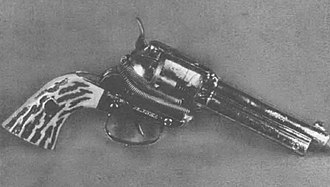 Improvised firearm - A zip gun constructed from a toy cap gun. The gun is capable of shooting a .22 caliber shell.