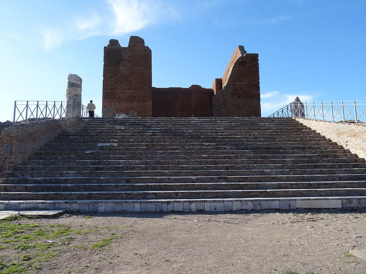 Capitolium ostia wikipedia for Di tommaso arredamenti ostia