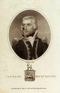 Richard Bowen (Royal Navy) British Royal Navy officer