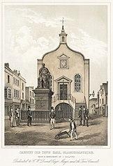 Cardiff old town hall, Glamorganshire