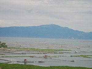 Rizal - Laguna de Bay seen from Cardona