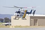 Careflight (VH-IME) Kawasaki Heavy Industries BK117 B-2 taking off from Wagga Wagga Airport (1).jpg