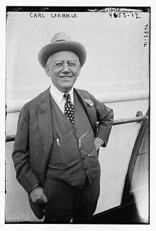 Карл Леммле в 1918 году. Jpg