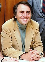 Carl Sagan, author of Contact