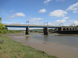 River Lune - Carlisle Bridge over the Lune at Lancaster
