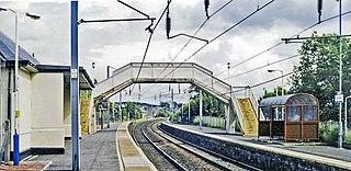 Carluke railway station